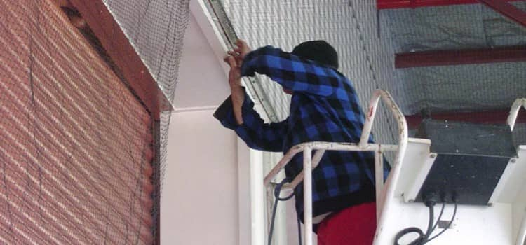 How do you Install Bird Netting in Ahmedabad?